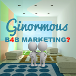 B4B Marketing Concept