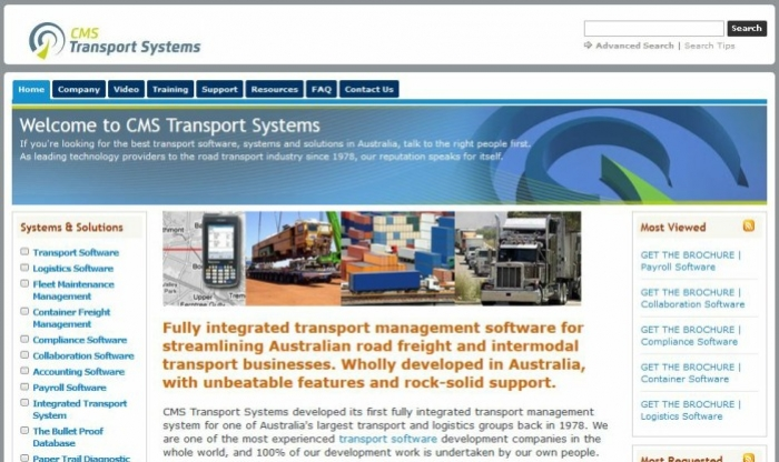 Transportation Management System Software