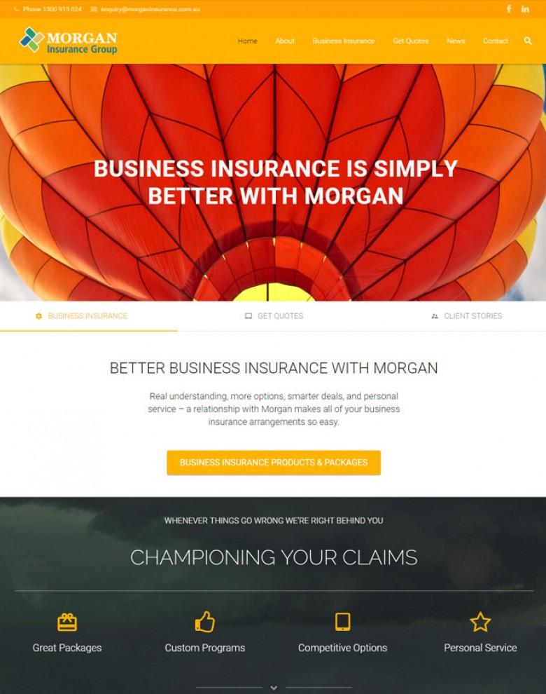 Morgan insurance