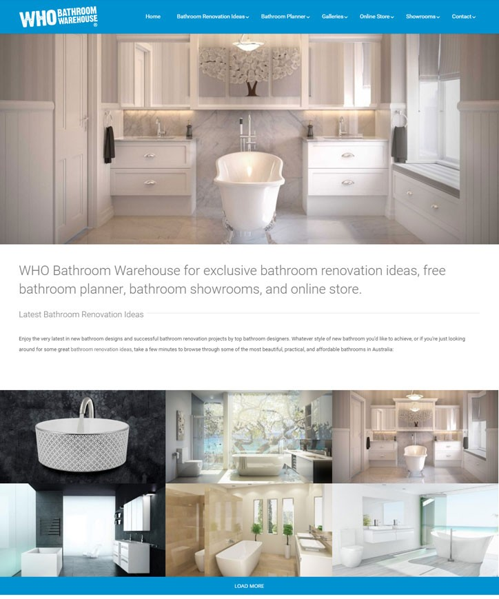 Who bathroom warehouse b2b marketing agency sydney for Bathroom warehouse